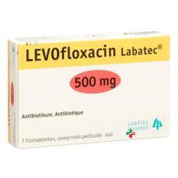 Левофлоксацин Лабатек 500 мг 7 таблеток покрытых оболочкой