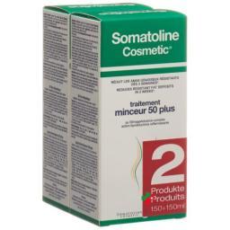 Somatoline Cosmetics Figurpflege 50 Plus 2x 150мл