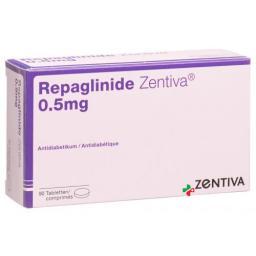 REPAGLINIDE ZENTIVA 0.5MG