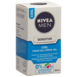 Nivea Men Sensitive Cool крем гель 50мл