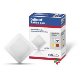 Cutimed Sorbion Sana 8.5x8.5см 10 штук