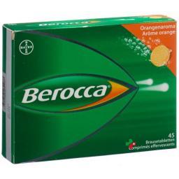 Берокка Апельсин 45 шипучих таблеток