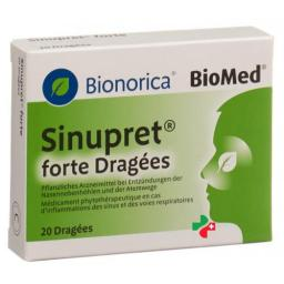 Sinupret Forte Dragees (neu) 20 штук