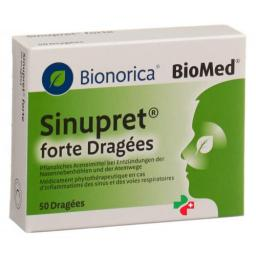 Sinupret Forte Dragees 50 штук