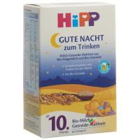 Hipp Gute Nacht Flaeschchen 10m M Getreide 500г