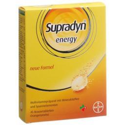 Supradyn Energy в растворимых таблетках Orange (neu) 45 штук