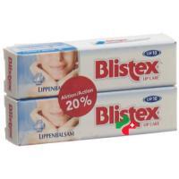 Blistex бальзам для губ Duo 2x 4.25г