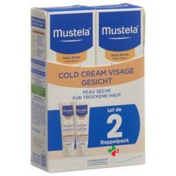Mustela Cold крем Gesicht для сухой кожи 2x 40мл