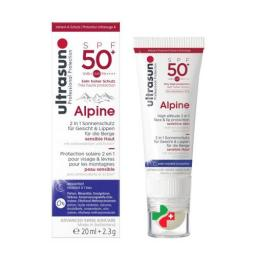 Ultrasun Alpine SPF 50 20мл + 2.3мл