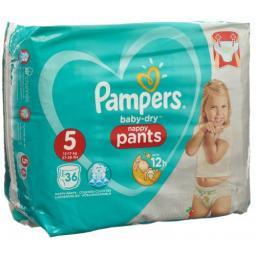 Pampers Baby Dry Pants размер 5 12-18кг Jun Spa ?36neu