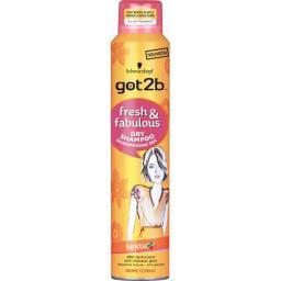 Got2b Fresh&fabulous Dry Shampoo Texturiz 200мл