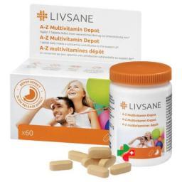 ЛИВСАН A-Z Мультивитамин Депо 60 таблеток