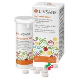 ЛИВСАН Лактоактив Детский 20 жевательных таблеток