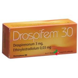 Дроспифем 30 6 x 21 таблетка покрытая оболочкой