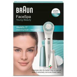 Braun Facespa Young Beauty Face 832-s Weiss/blau