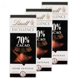 Lindt Excellence Tafelschokolade 70% Cacao