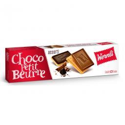 Wernli Petit Beurre Guezli Schokolade assortiert