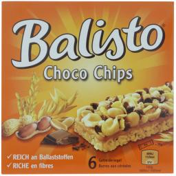 Balisto Шоколадные Батончики 6 Штук