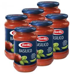Barilla Tomatensauce mit Basilikum 6x  400g