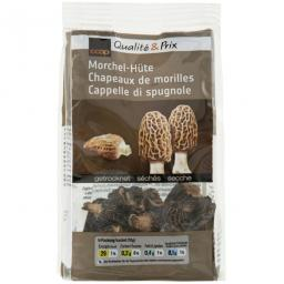Dried Morel Mushroom Caps