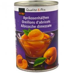Aprikosenhälften