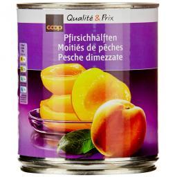 Персик консервированный половинки 510 г