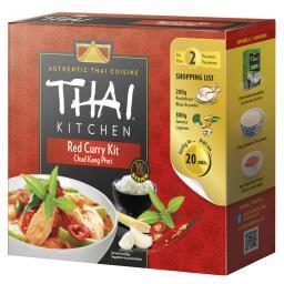 Комплект 600г тайской кухни Красное Карри