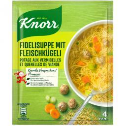 Вермишель Кнорр с фрикадельками суп Mix