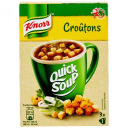 Knorr Quick Soup Croûtons 34G