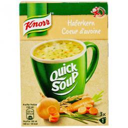 Быстрый Суп Из Овсяных Хлопьев Смешайте Суп Кнорр