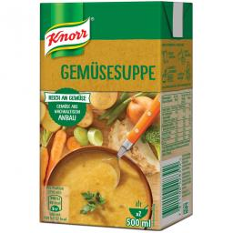 Крем-суп из овощных смесей супа Кнорр