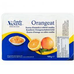 Vanini Orangeat Kandierte Orangenschalenwürfel