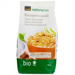 Naturaplan Bio Knusper-Müesli Choco-Amaranth