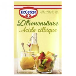 Д-р Откер лимонная кислота 5x5g