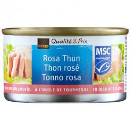 МСЦ розовый тунец в растительном масле