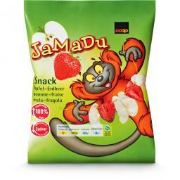 JaMaDu Snack Apfel & Erdbeer