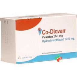 Ко-Диован 160/12,5 мг 98 таблеток покрытых оболочкой