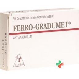 Ферро-Градумет 30 таблеток