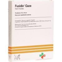 Фуцидин 2% 10 х 10 см 10 пропитанных марлей