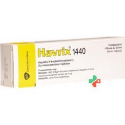 Хаврикс1440 суспензия для инъекций заполненный шприц 1 мл
