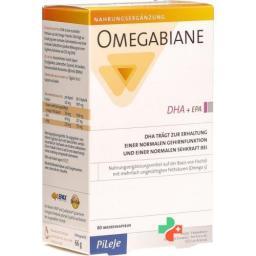 Omegabiane DHA + EPA 621 mg 80 Kaps