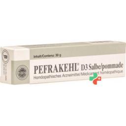 Пефракель Д3 30 грамм мазь