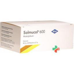 Солмукол гранулы 600 мг без сахара 90 пакетиков