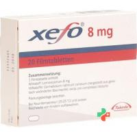 Ксефо 8 мг 20 таблеток
