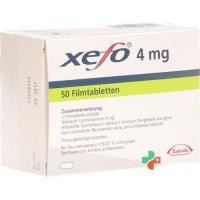 Ксефо 4 мг 50 таблеток покрытых оболочкой