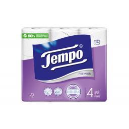 Toilettenpapier Premium 9 Rollen, 4-lagig, Weiss