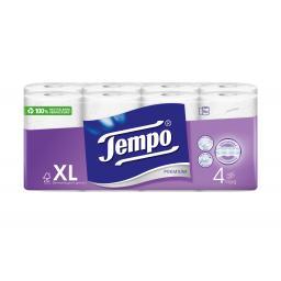 Toilettenpapier Premium 16 Rollen, 4-lagig, Weiss
