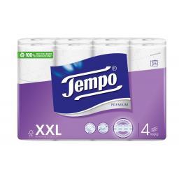 Toilettenpapier Premium XXL 24 Rollen, 4-lagig, Weiss