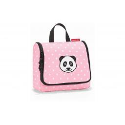 Necessaire Toiletbag Kids Panda Dots Pink