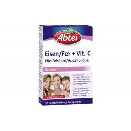 Eisen + Vitamin C + B12 33 Filmtabletten